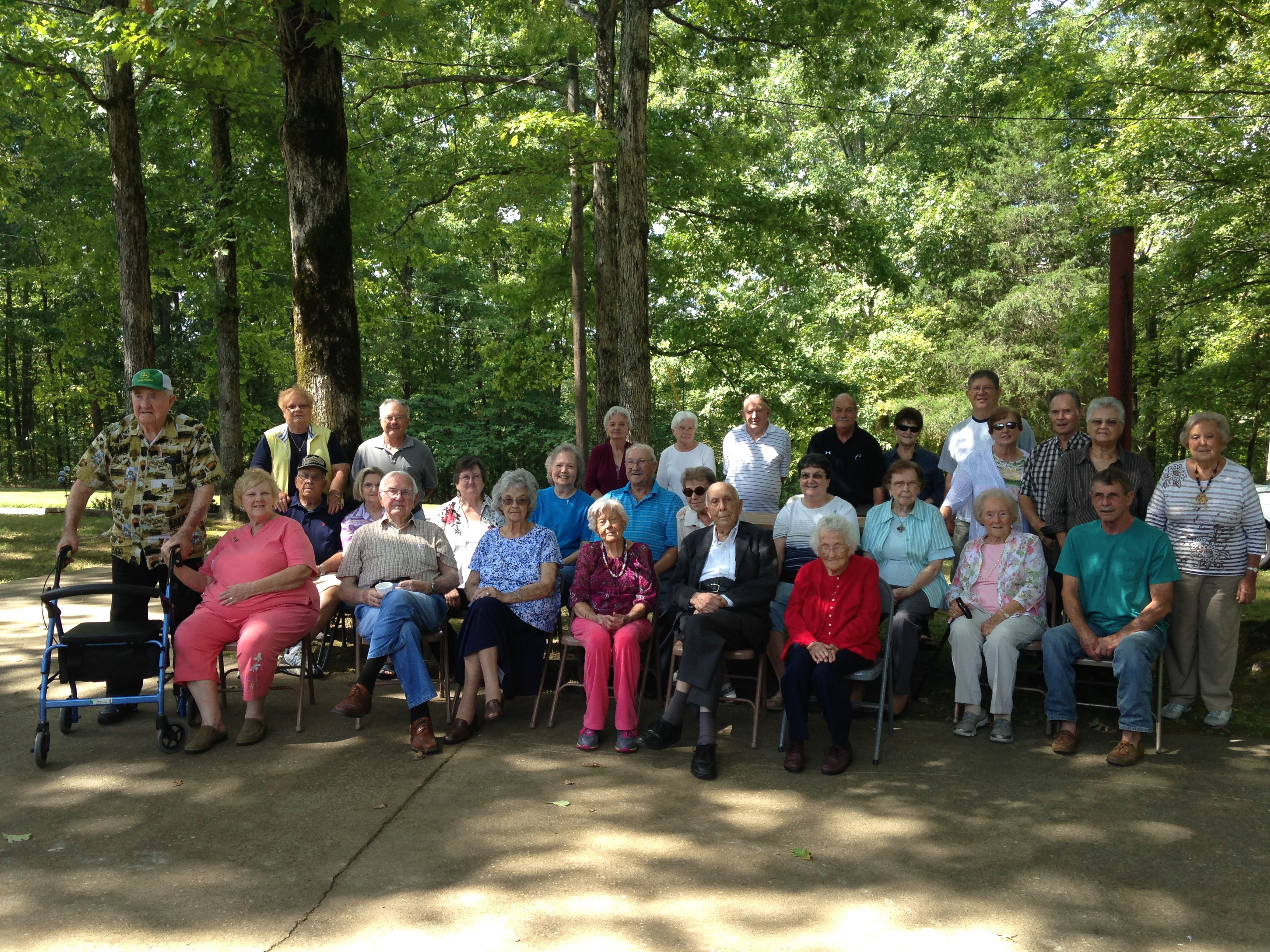 Seniors Group August 2015